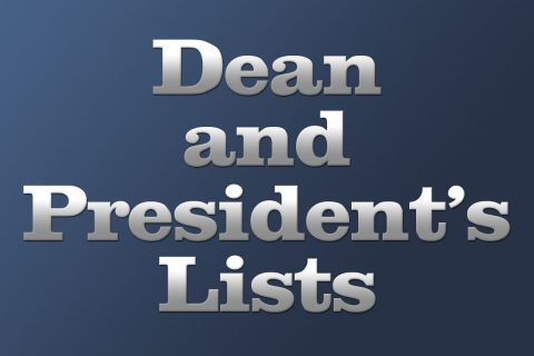 Dean and President's Lists