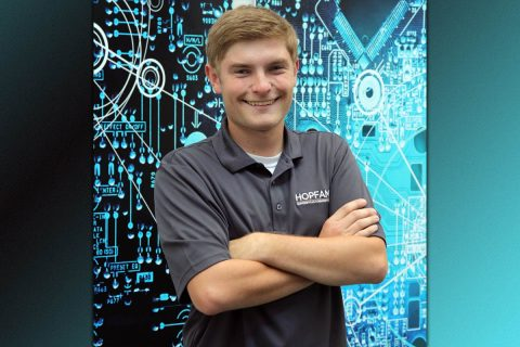 Jacob Thomas, Hopkinsville Community College alumnus and Kentucky Association of Manufacturers Rising Star in Manufacturing Award winner.