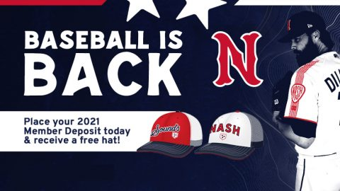 Nashville Sounds $100 Deposit Per Seat Guarantees Seat Selection in Line for New Customers. (Nashville Sounds)