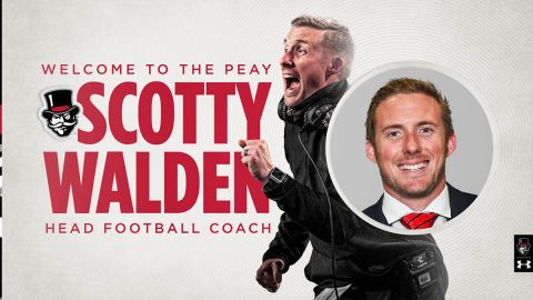Scotty Walden named Austin Peay State University's 21st head football coach. (APSU Sports Information)