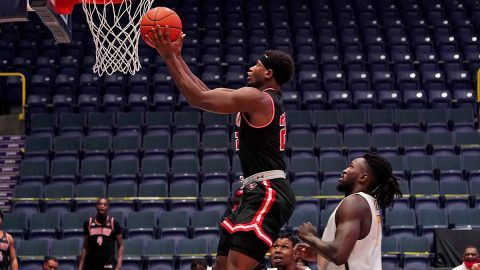 Austin Peay State University Men's Basketball senior Terry Taylor scored 25 points and pulled down 16 boards in win over East Tennessee State, Thursday. (APSU Sports Information)