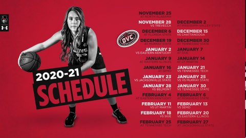 Austin Peay State University Women's Basketball announces 2020-21 Schedule. (APSU Sports Information)