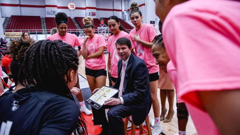 Austin Peay State University Women's Basketball head coach David Midlick. (APSU Sports Information)