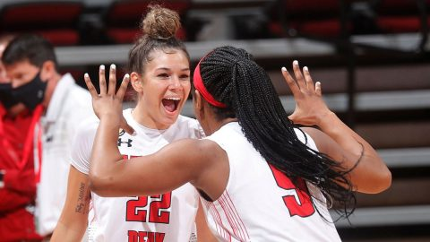 Austin Peay State University Women's Basketball gets home opening win against Trevecca Trojans. (APSU Sports Information)