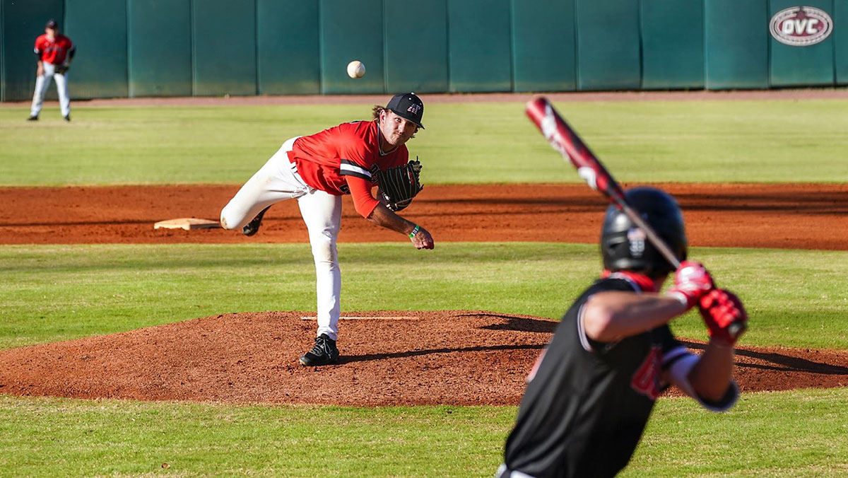 Austin Peay State University Baseball's Red-Black World Series came to an end with the Red team pulling out a 11-8 win, Friday. (APSU Sports Information)