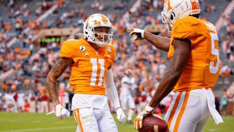 Tennessee Vols Football travels to Arkansas to take on the Razorbacks Saturday night. (UT Athletics)