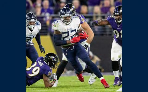 Tenenssee Titans running back Derrick Henry. (Tennessee Titans)
