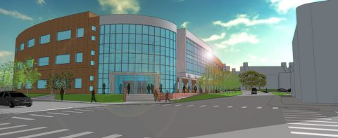 A rendering of the proposed Austin Peay State University Health Professions Building. (APSU)