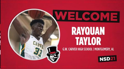 Austin Peay State University adds size to team with RayQuan Taylor. (APSU Sports Information)
