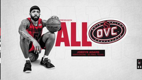 APSU Basketball's Jordyn Adams named to 2020-21 Preseason All-OVC Team