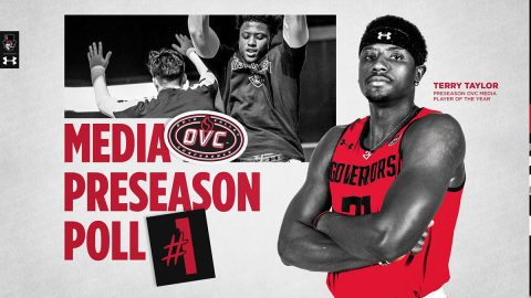 Austin Peay State University Men's Basketball senior Terry Taylor selected OVC Preseason Player of the Year. (APSU Sports Information)