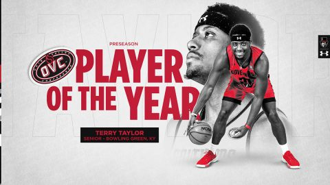 Austin Peay State University Basketball's Terry Taylor named OVC Preseason Player of the Year. (APSU Sports Information)