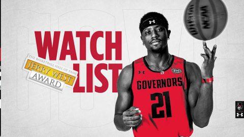 Austin Peay State University Men's Basketball senior Terry Taylor picked to Jerry West Award Preseason Watch List. (APSU Sports Information)