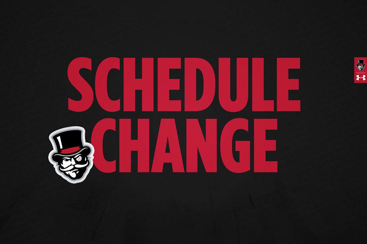 Ausitn Peay State University Sports Schedule Change. (APSU)