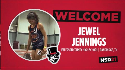Austin Peay State University adds sprinter Jewel Jennings during early signing period. (APSU Sports Information)