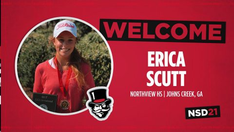 Austin Peay State University Women's Golf inks Erica Scutt for 2021-22 season. (APSU Sports Information)
