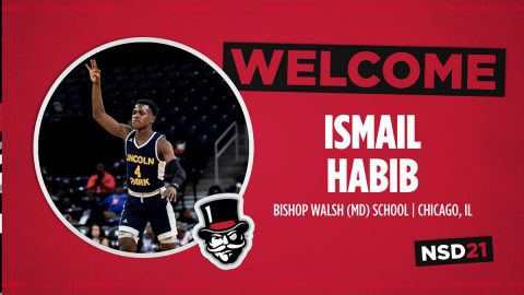 Austin Peay State University Men's Basketball brings Ismail Habib aboard during signing period. (APSU Sports Information)