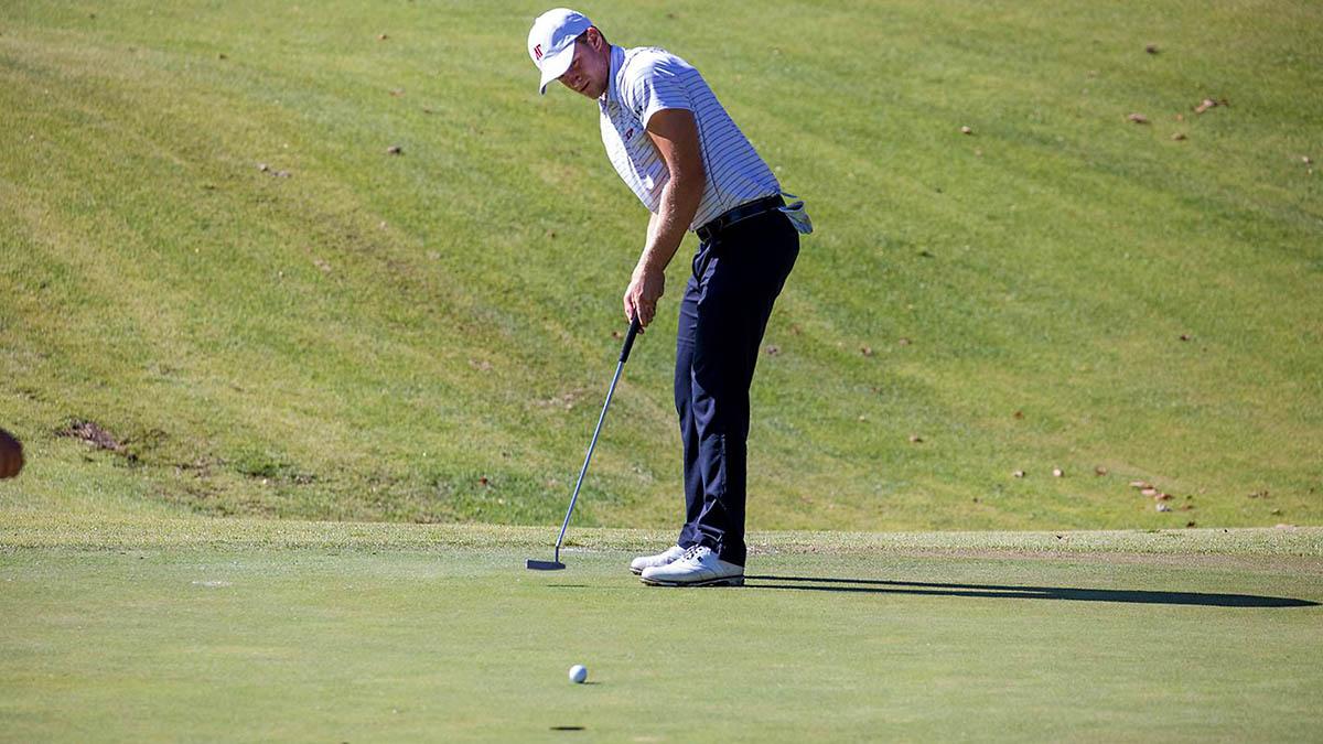 Austin Peay State University Men's Golf senior Alex Vegh. (APSU Sports Information)
