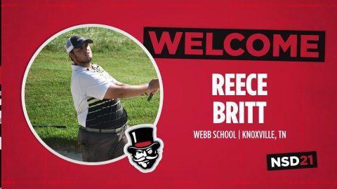 Austin Peay State University Men's Golf signs Reece Britt. (APSU Sports Information)