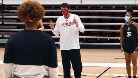 Austin Peay State University Women's Basketball coach David Midlick. (APSU Sports Information)