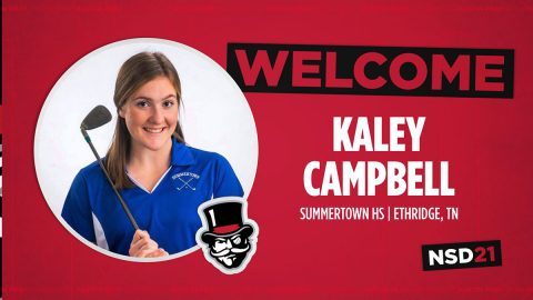 Austin Peay State University Women's Golf adds Kaley Campbell to 2021 Season. (APSU Sports Information)