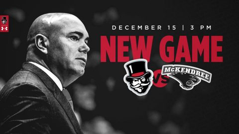 Austin Peay State University Men's Basketball to play McKendree at the Dunn Center on December 15th. (APSU Sports Information)