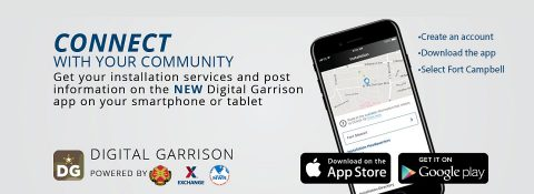 Digital Garrison app for Fort Campbell