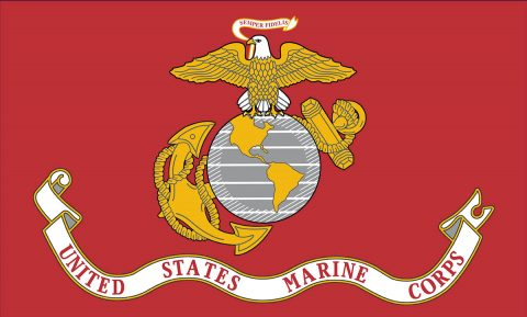 Flag of the US Marine Corps
