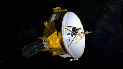 NASA's New Horizons spacecraft. (NASA)