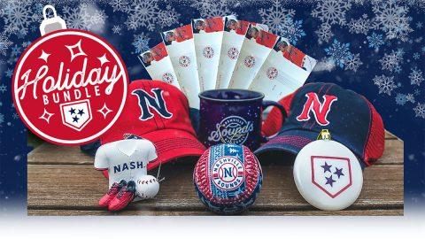 Nashville Sounds Holiday Bundles for the 2021 Season are Fully Customizable. (Nashville Sounds)