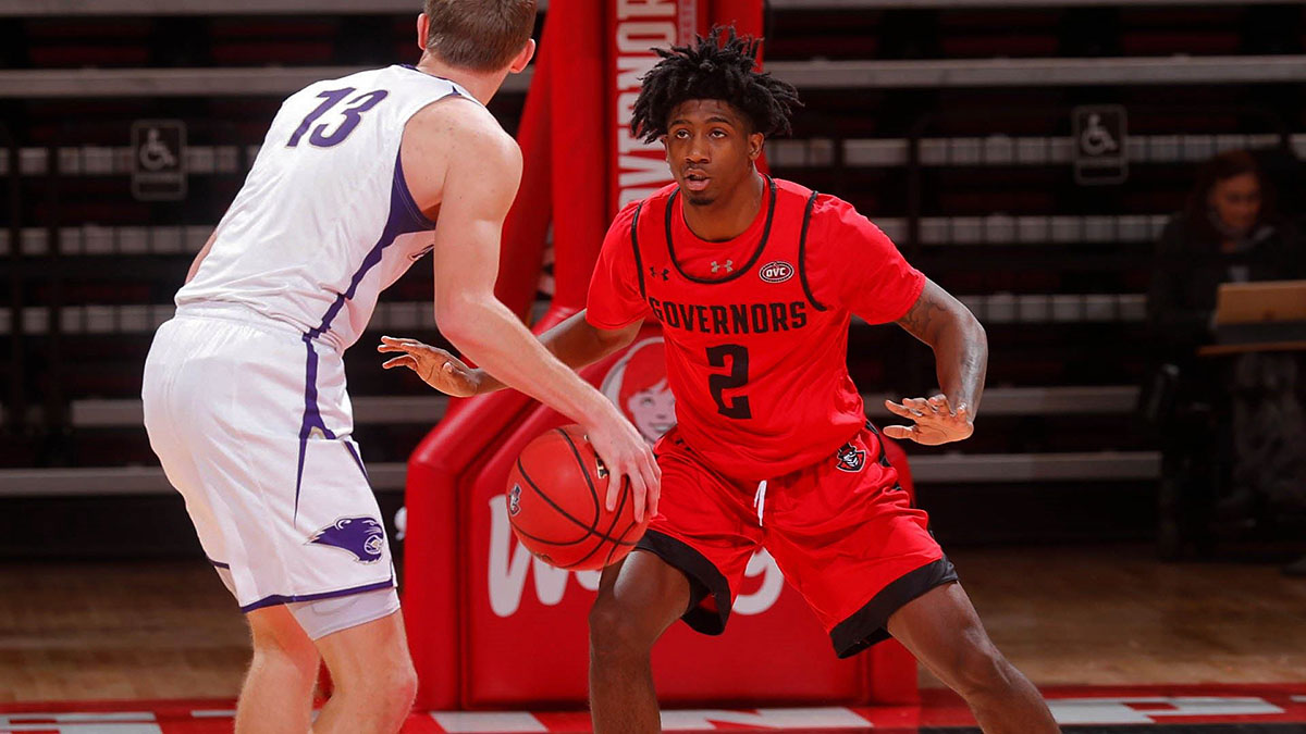 Austin Peay State University Men's Basketball gets 92-68 victory against McKendree at the Dunn Center Monday night. (APSU Sports Information)