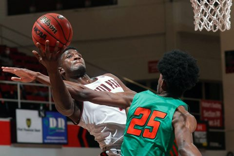 Austin Peay State University Men's Basketball drops home game to Florida A&M. (Robert Smith, APSU Sports Information)