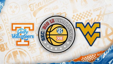 Tennessee Lady Vols Basketball faces West Virginia Mountaineers in SEC/Big 12 Challenge, Sunday. (UT Athletics)