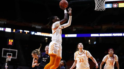 Tennessee Women's Basketball gets 77-52 home win against Lipscomb Monday night. (UT Athletics)