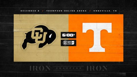 Tennessee Vols Basketball open season againss Colorado this Tuesday at Thompson-Boling Arena. (UT Athletics)