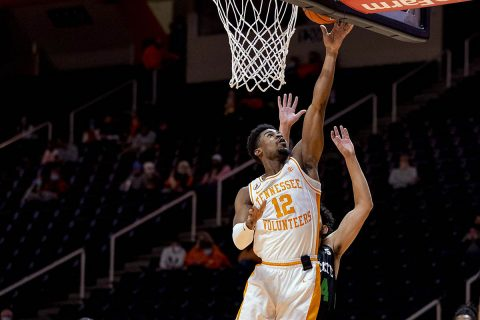 Tennessee Men's Basketball improves to 6-0 with 80-60 win over USC Upstate Wednesday at Thompson-Boling Arena. (UT Athletics)