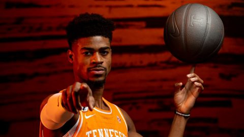 Tennessee Men's Basketball is on the road Wednesday to take on Missouri. (UT Athletics)