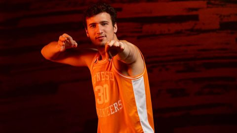 Tennessee Men's Basketball takes on Tennessee Tech at Thompson-Boling Arena, Friday. (UT Athletics)