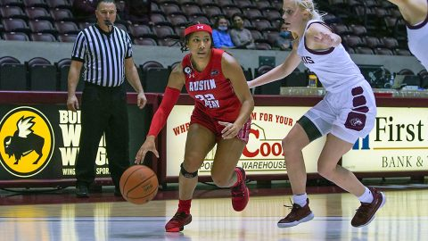 Austin Peay State University Women's Basketball falls to Southern Illinois, Saturday. (APSU Sports Information)