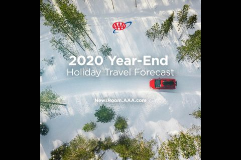 2020 Year End Holiday Travel Forecast. (AAA)