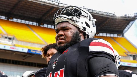 Austin Peay State University football defensive lineman Josephus Smith selected for 2020 Uplifting Athletes Rare Disease Champion Team. (APSU Sports Information)