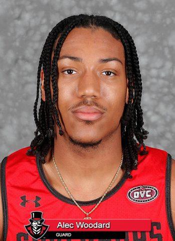 APSU Men's Basketball - Alex Woodard. (Robert Smith, APSU Sports Information)
