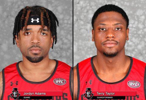 APSU Men's Basketball - Jordyn Adams and Terry Taylor