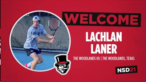 Austin Peay State University men's tennis program signs Lachlan Laner of Woodlands, Texas. (APSU Sports Information)
