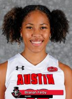 APSU Women's Basketball - Brianah Ferby. (Robert Smith, APSU Sports Information)