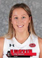 APSU Women's Basketball - Ella Sawyer. (Robert Smith, APSU Sports Information)