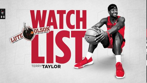Lute Olson Award Preseason Watchlist latest accolade for Austin Peay State University Men's Basketball senior Terry Taylor. (APSU Sports Information)