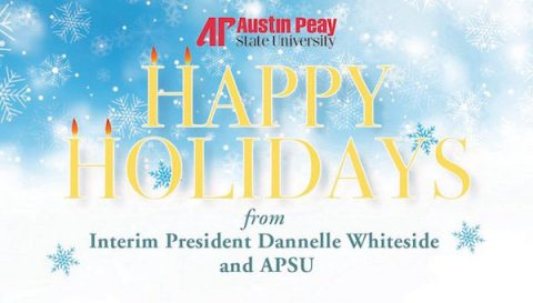Austin Peay State University wishes everyone a Happy Holiday. (APSU)