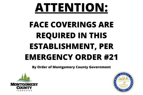Face Masks required in Clarksville-Montgomery County