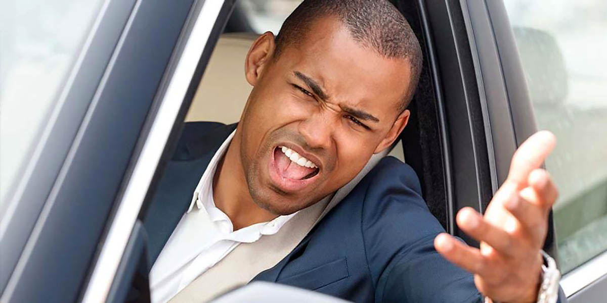 Men Are More Aggressive Behind the Wheel. (AAA)